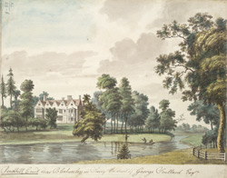 Pendhill Court near Blechenley in Surrey, the seat of George Scullard Esq